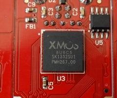 iFI nano DSD DAC - binnenkant XMOS
