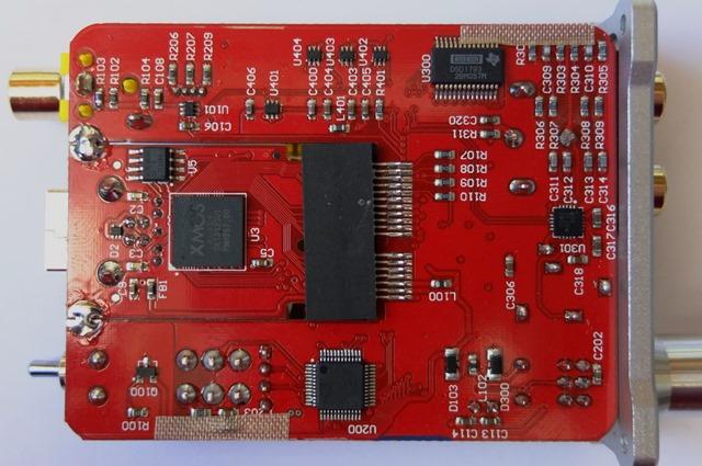 iFI nano DSD DAC - binnenkant onderkant PCB
