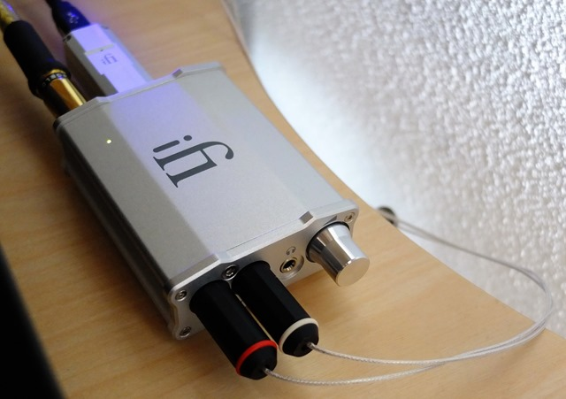 iFI nano DSD DAC - in audiorek