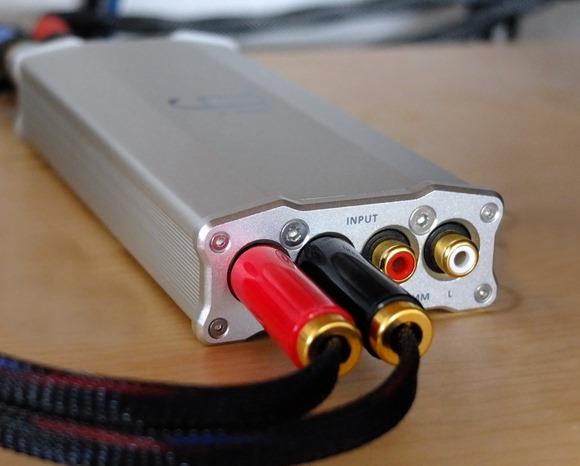 iFi Micro iPhono in audiorek