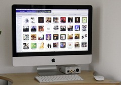 iMac met Pure Music