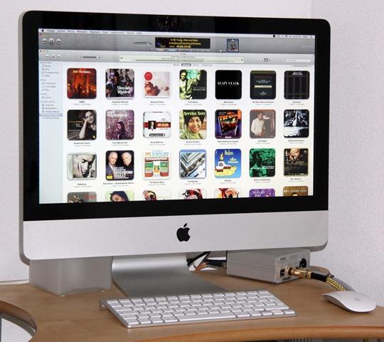 iMac player met Amarra 2