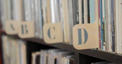 Maak zelf houten record dividers