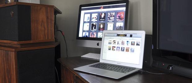 IMac en Macbook air als muziekspeler