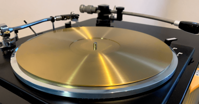 ResoEx Turntable Platter