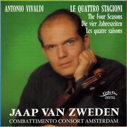 Vivaldi de vier jaargetijden Jaap van Zweden